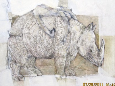coy and rhino stand by me