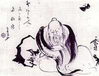 chuangzi. philosopher. 4th cent BC China. dreaming he was a butterfly.